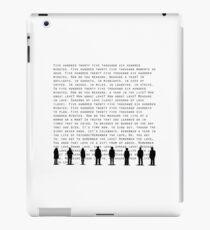 Jahreszeiten der Liebe (Schwarz) iPad-Hülle & Klebefolie