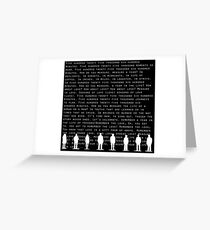 Seasons of Love(White) Greeting Card