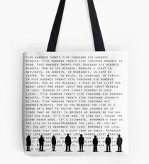 Seasons of Love(Black) Tote Bag