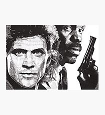 Lethal Weapon Photographic Print