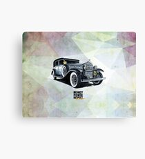 Historic gangster car Canvas Print