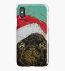 Santa Pug iPhone Case/Skin