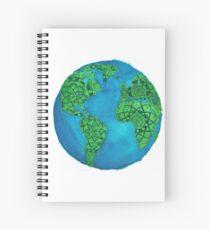 Earth Mandala  Spiral Notebook