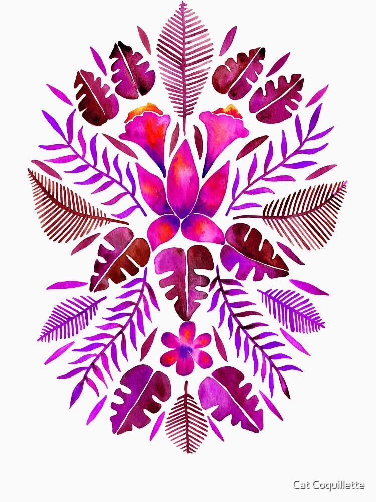 Tropical Symmetry – Magenta by catcoq