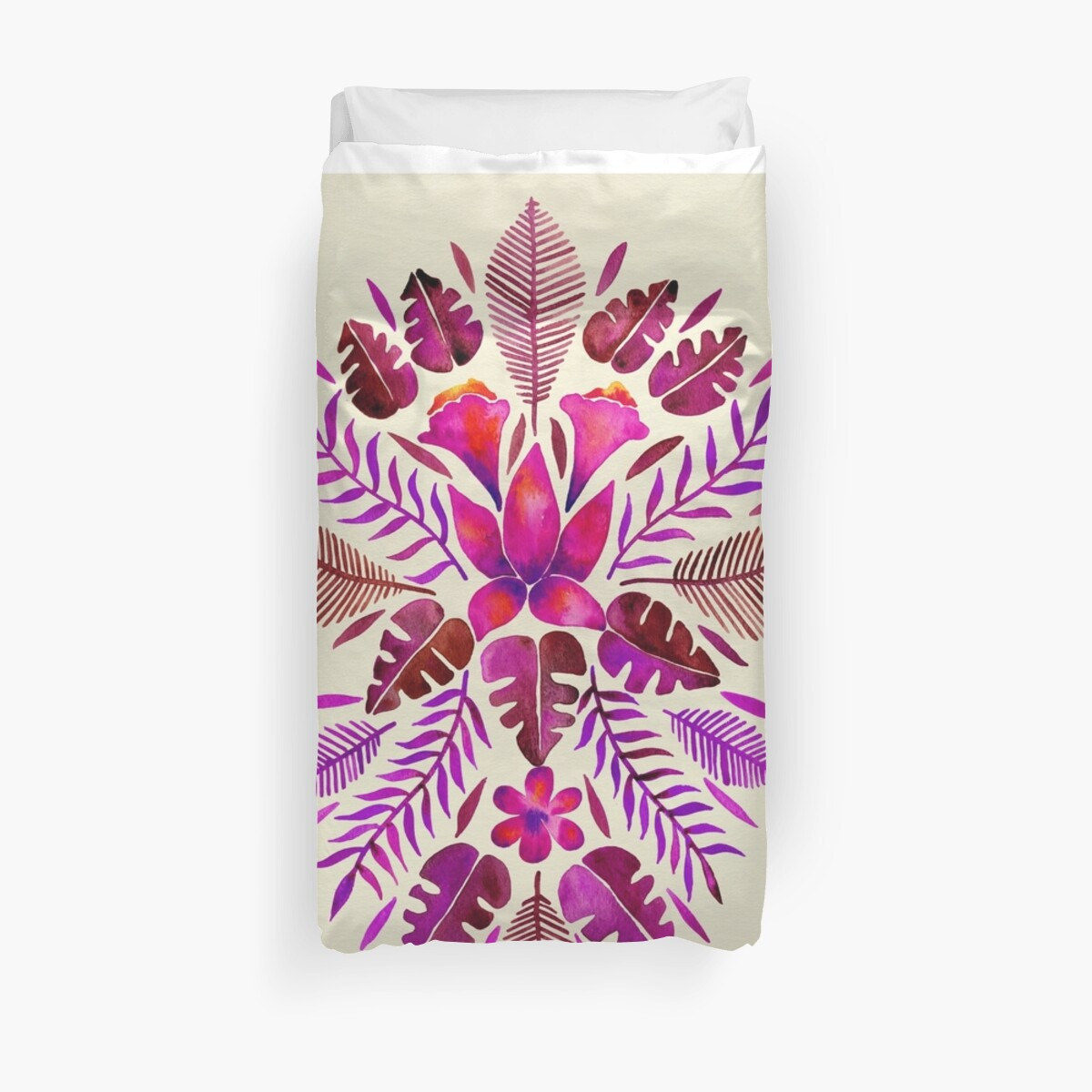 Tropical Symmetry – Magenta by Cat Coquillette