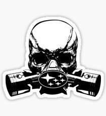 Subaru Skull Mask Sticker