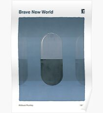 Aldous Huxley - Brave New World Poster