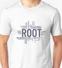 Root Identities - Person Of Interest T-Shirt