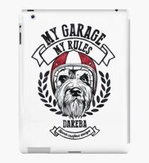 My garage, My rules iPad Case/Skin