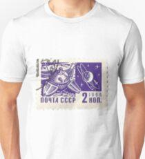 Soviet Space Postage Luna 10, 1966 Unisex T-Shirt