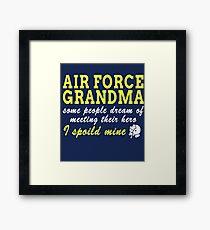 Air Force Grandma Framed Print