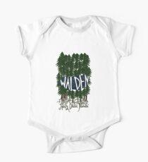 Body de manga corta para bebé Walden (color)
