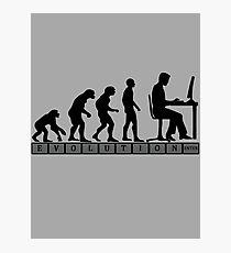 computer evolution Photographic Print