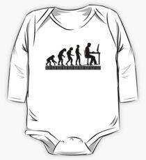 computer evolution Kids Clothes