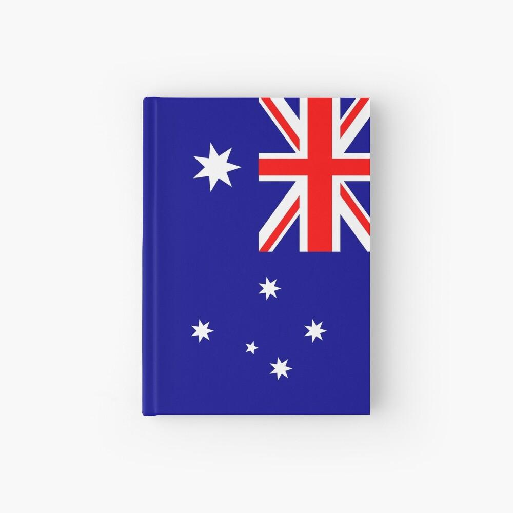 Bandera de Australia Cuaderno de tapa dura
