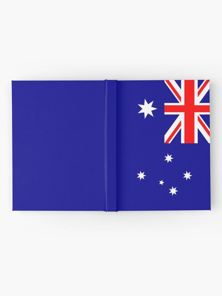 Vista alternativa de Cuaderno de tapa dura Bandera de Australia