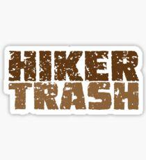Hiker Trash Sticker