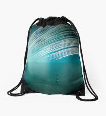 6 month exposure overlooking the Beachy head lighthouse. Drawstring Bag