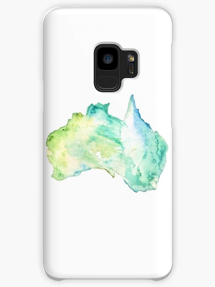 Australia Watercolor  by savboerger
