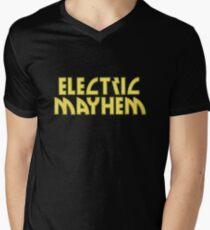 Electric Mayhem Mens V-Neck T-Shirt