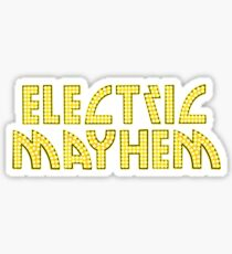 Electric Mayhem Sticker