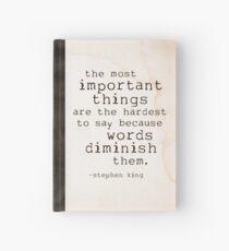 words journal Hardcover Journal