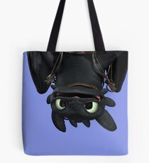 Upside Down Toothless Tote Bag