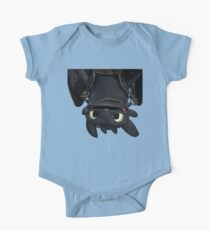 Upside Down Toothless One Piece - Short Sleeve