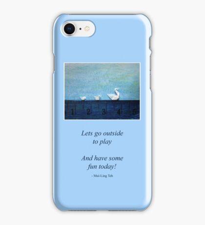 3cm Family Swim iPhone Case/Skin