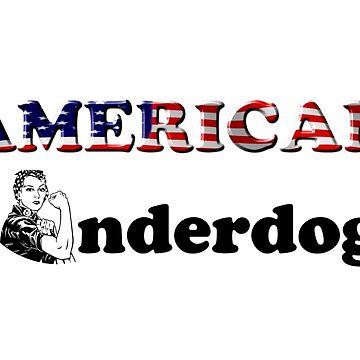 American Underdog - Woman I by Am-Underdog