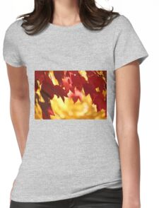 Morning Sun in Fall Womens Fitted T-Shirt
