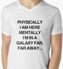 Galaxy Far Far Away Men's V-Neck T-Shirt