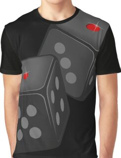 Snake eyes Dices VRS2 Graphic T-Shirt