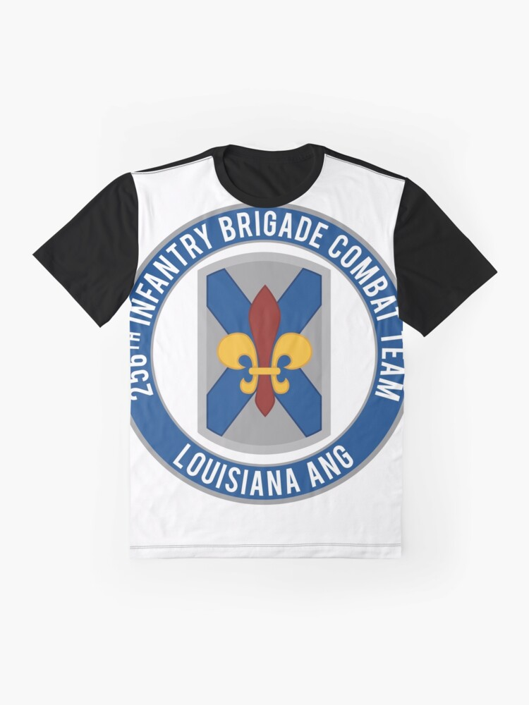 Alternate view of 256th Infantry LA ANG Graphic T-Shirt
