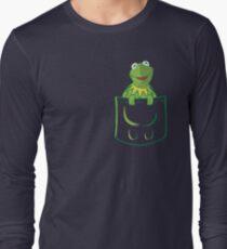 Kermit Pocket - muppet show Long Sleeve T-Shirt