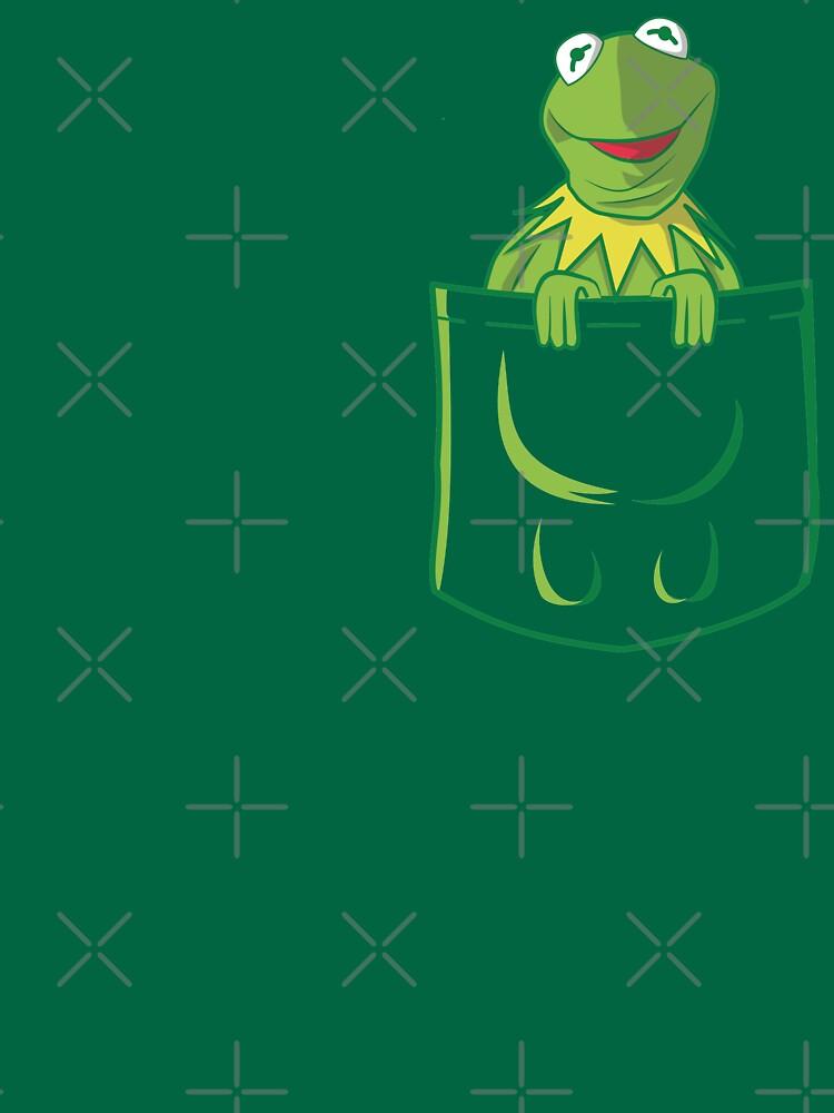 Kermit Pocket - muppet show by KokoBlacsquare