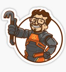 Lambda Boy Sticker