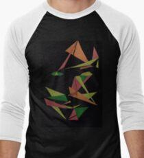 Layer Face Men's Baseball ¾ T-Shirt