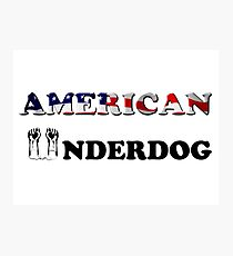 American Underdog - Silenced Photographic Print