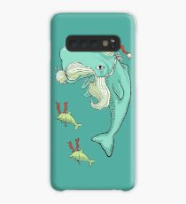 Christmas Whale Case/Skin for Samsung Galaxy