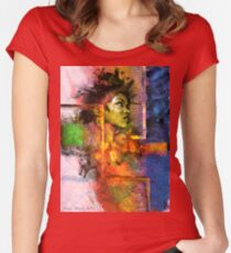 Lauryn Hill Women's Fitted Scoop T-Shirt