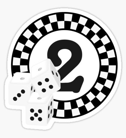 Bunco Dices - Table No Two VRS2 Sticker
