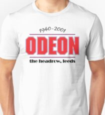 Lost Leeds - Odeon Cinema Unisex T-Shirt