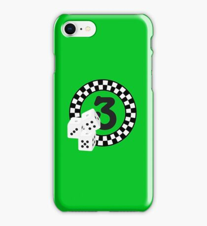 Bunco Dices - Table No Three VRS2 iPhone Case/Skin