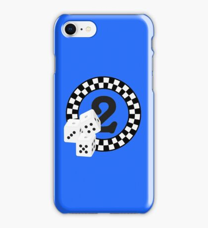 Bunco Dices - Table No Two VRS2 iPhone Case/Skin