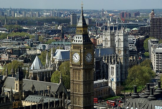 Big Ben - Great Bell - London by fuxart