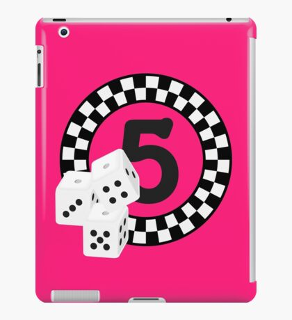 Bunco Dices - Table No Five VRS2 iPad Case/Skin