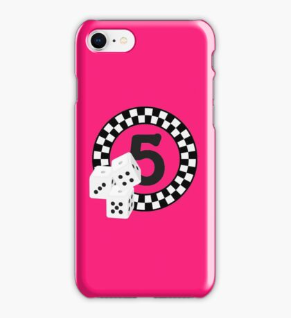 Bunco Dices - Table No Five VRS2 iPhone Case/Skin