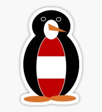 Austrian Penguin Sticker