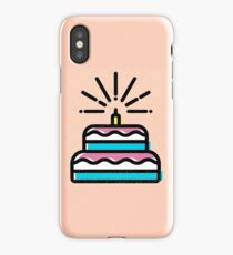Peach Cake iPhone Case/Skin